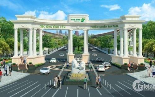 Bán đất kí gửi dự án Five Star Eco City, dự án năm sao ngay Đinh Đức Thiện
