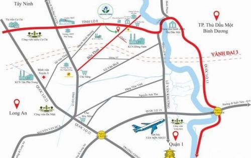Nhận giữ chỗ dự án Hòa Phú Town, đối diện KCN Đông Nam - Giá gốc CĐT chỉ 14tr/m2