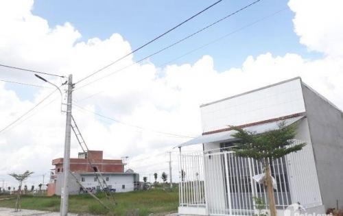 Bán nhanh 5 lô đất khu dân cư Tây Bắc Củ Chi, 120m2 giá 680tr, ngân hàng hỗ trợ 50%, sổ hồng riêng