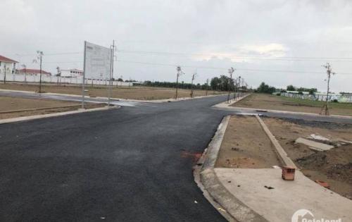 Cần bán đất ngay cầu vượt Củ Chi giá 510tr/100m2,SHR,sang tên trong ngày,thổ cư 100%,LH 0989.425.407