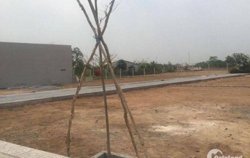 Bán lô đất thổ cư 100% mt QL 22, Tân An Hội-tt Củ Chi, SHR giá chỉ 5,7tr/m2