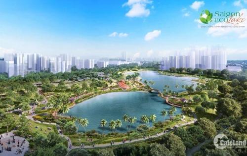 Đất nền sổ đỏ - Khu đô thị sinh thái SaiGon Eco Lake