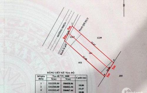 Cần bán lô đất tân phú trung –QL 22 10x32.5m giá 800tr ,sổ hồng riêng