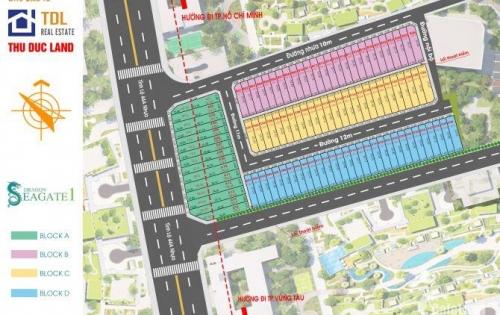 Bán đất nền mặt tiền Tỉnh lộ 44a trung tâm hành chính Bà Rịa giá cực rẻ mở bán đợt đầu. 0937239182