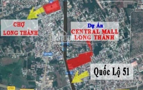 Mở bán giai đoạn 1, siêu dự án Long Thành Central Mall.