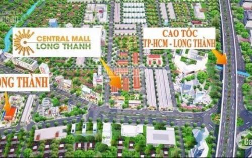 Dự án trung tâm thành phố sân bay chỉ 600tr/nền