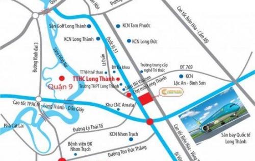 Đất Nền Sân Bay QT Long Thành - SHR Thổ Cư 100%