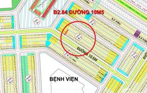 Bán lô đất đường 10m5 thông ra Minh Mạng B2.84 Nam Hòa Xuân gần trường cấp 2, giá siêu đầu tư