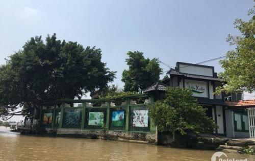 Bán gấp lô đất mặt tiền sông giá siêu rẻ Nhơn Trạch gần phà Cát Lái