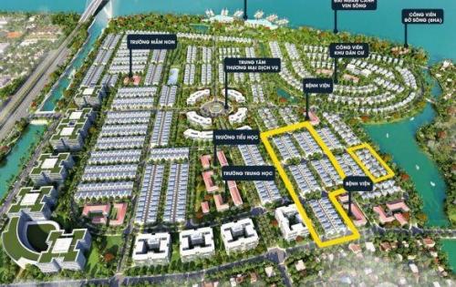 Cần bán đất nền dự án nhà phố, biệt thự đẳng cấp ven sông liền kề quận 2 - Dự án Kinh Bay. Diện tích: 100-150m2, 20trieu/m2