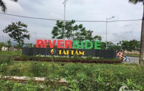 Đất nền mặt tiền sông Đáy trung tâm TP. Phủ Lý, đường quốc lộ cũ, gần KS Mường Thanh, BV Bạch Mai