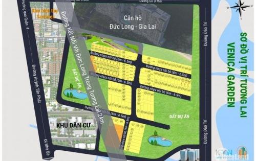đất nền liền kề đâò trí quận 7, 52m2, 2.89tr/m2, sổ riêng xây dựng tự do
