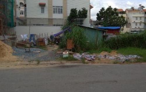 Bán đất gần đường D1 -KDC Him Lam - Tân Hưng - Quận 7, Gía:120tr/m2