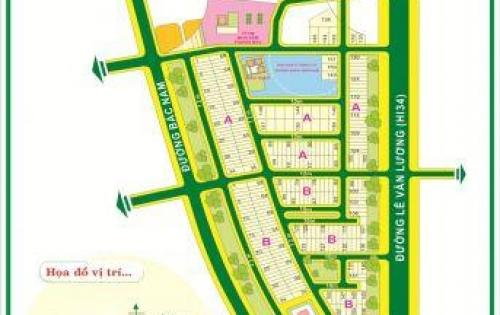 Bán Đất Kim Sơn Tân Phong Quận 7 : Lô Góc Đường Thông DT 87,5m2 Giá 11 tỷ