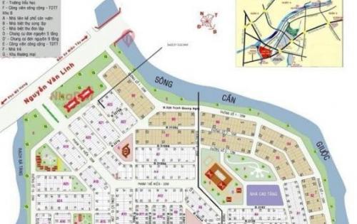 Dự án đất nền Phú Lợi khu vực quận 8 mặt tiền Nguyễn Văn Linh