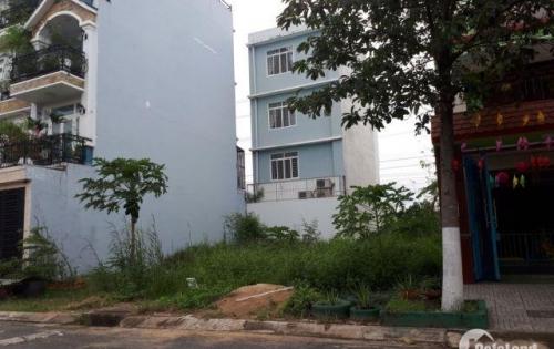 Dì Bông cần tiền gấp để con du học nên bán miếng đất  100m2 thổ cư đã có sổ, ngay Vòng xoay Phú Hữu, Q9, giá 1 tỷ 320 triệu.LH 01286981397