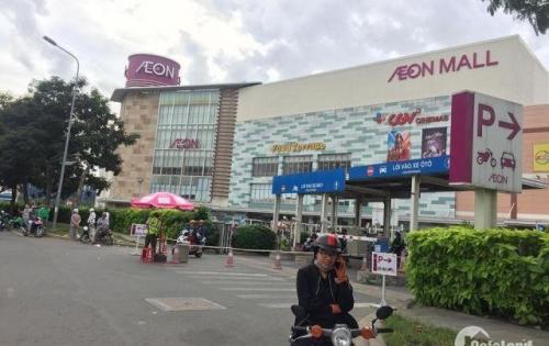 Đất EAON Tân Phú, 2 mặt tiền, sổ hồng riêng, HXH.