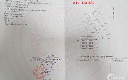 Bán Đất đường xe tải mét phường Bình Chiểu – Thủ Đức 2,5tỷ