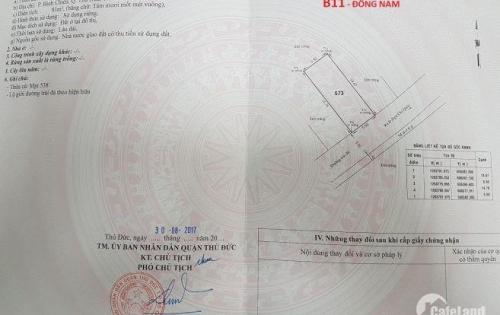 Bán gấp lô đất đường 8m, P.Bình Chiểu - Thủ Đức 80m2,2,5 tỷ. LH: 0909481918