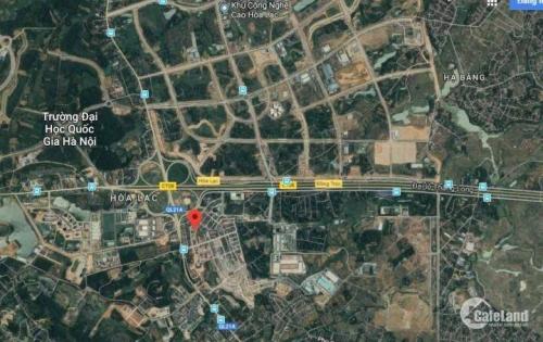 Bán đất gấp - Lô góc 200m² TĐC Thạch Hòa - Công nghệ cao Hòa Lạc - Thạch Thất