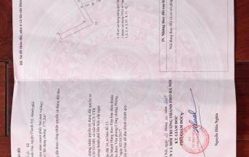 Bán đất phân lô tại thôn Nhân Hòa xã Tả Thanh Oai giá 32tr/m2