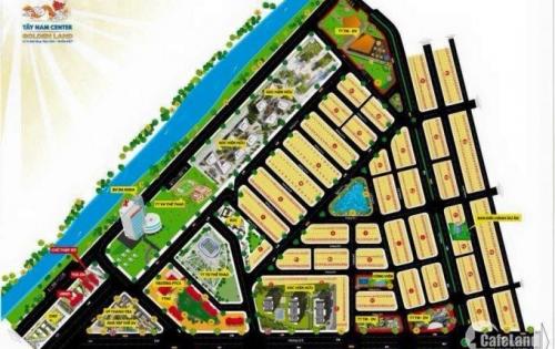 Bán đất nền dự án tây nam center golden land