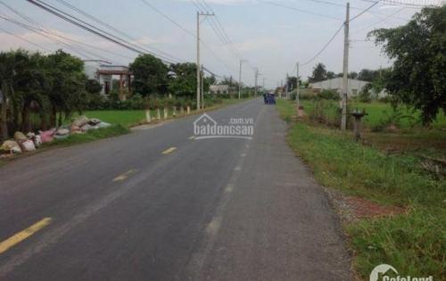 ha em có đất mặt tiền đường nhựa cách QL1A 1km5 (Bình Thạnh, Thủ Thừa)
