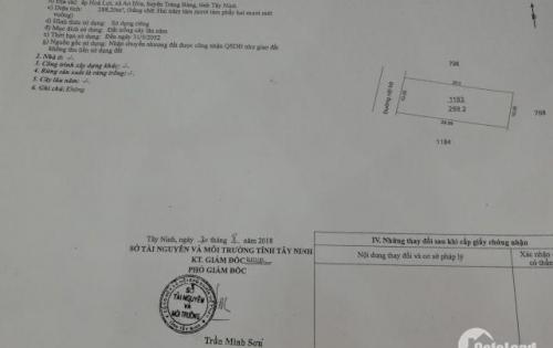 Đất Ở Giá Rẻ Cần Bán Nhanh Tại Trảng Bàng Tây Ninh