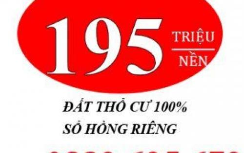 Đất Thổ Cư Giá Rẻ Cần Bán Nhanh Tại Trảng Bàng Tây Ninh