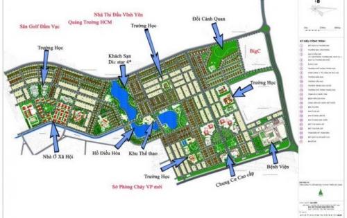 Bán đất vị trí đẹp tại khu ĐÔ THỊ NAM VĨNH YÊN 100-600m2 LH: 0982.978.839