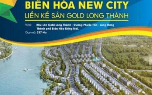 Đầu Tư Sinh Lợi , dự án đất nền sổ đỏ Biên Hòa NewCity, chỉ từ 10tr/m2, LH 0932.988.252