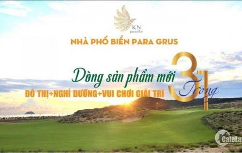 Đạt Lợi Nhuân 30-100% trong vòng 6 tháng với Nhà Phố Paragrus tại Bãi Dài, Cam Ranh