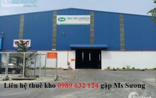 Cho thuê kho chứa hàng tại KCN Sóng Thần, Dĩ An, Bình Dương
