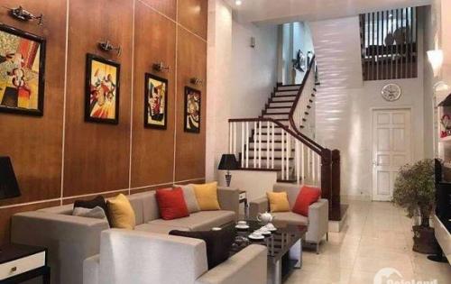 Bán nhà đẹp 5 tầng thiết kế sang trọng DT 50m2 khu Láng Hạ giá 5.5 tỷ