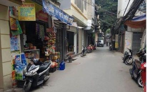 Bán nhà lô góc, ngõ ô tô Thịnh Quang, S42m2, 5t, mt 4m, 4,9 tỷ.