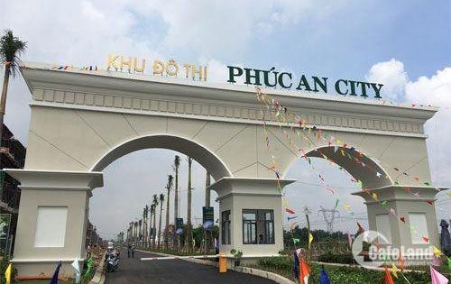 Chính thức mở bán khu đô thị lớn nhất cánh Tây SG Phúc An City, chỉ 850tr, nhận ngay nhà