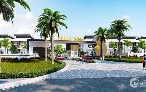 Biệt thự cao cấp siêu dự án Bella Villa - trung tâm thị trấn Đức Hòa