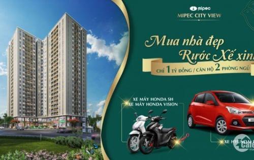 GIÁ GỐC chủ đầu tư Mipec City View Hà Đông chỉ từ 970 TRIỆU_ CK 2%_ LS 0%_ tháng 4/2019 nhận nhà