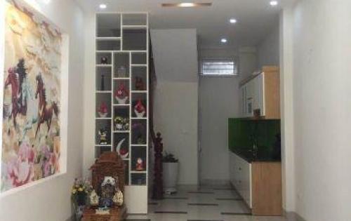 Bán gấp nhà mới xây đẹp, nở hậu, ngõ trước nhà nông, rộng 3m, KV Minh Khai, 30m*5 tầng, 2.5 tỷ.
