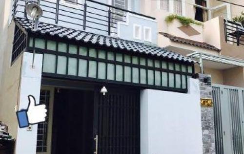 Nhà mới xây 1 trệt 1 lầu ở Bình Chánh giá mềm