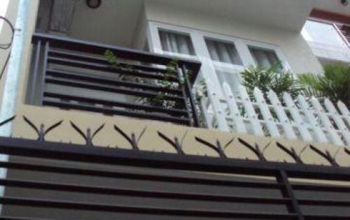 Bán nhà 1 tret 2 lầu cầu bà lát đường Võ Hữu Lợi, Bình Chánh, 85m2, SHR