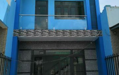Bán căn nhà 5x20 mới xây,SHR,cách chợ Bình Chánh 3km