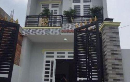 Cần bán căn nhà 1 trệt 1 lầu đúc thật , 100m2,SHR,945tr