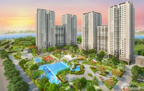 Bán căn hộ Saigon South Residences 2 phòng ngủ tầng thấp
