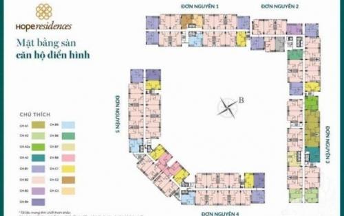 Chính thức tiếp nhận hồ sơ dự án nhà ở xã hội Hope Residence Phúc Đồng.