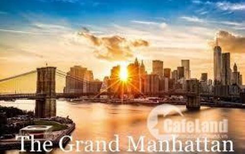 Chính thức mở bán The Grand Manhattan Quận 1, tăng 01 chỗ để xe oto ,nhận giữ chỗ liên hệ ngay PKD nhận ưu đãi: 0901868915