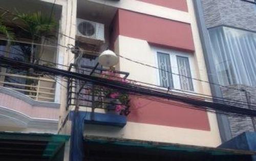 Bán nhà HẺM XE HƠI đường Nguyễn Trãi, p.Nguyễn Cư Trinh, Q.1,nhà 3 lầu, st, đang cho thuê 30tr/tháng.
