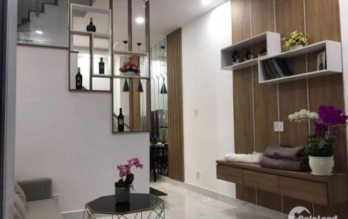 Nhà phố Thống Nhất - Tô Ngọc Vân nối dài, đúc 1 trệt 2 lầu, giá 1tỷ53. Tặng toàn bộ nội thất