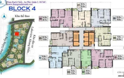 Cần tiền bán lại căn hộ Gem Riverside BL04-09 71m2 mua giai đoạn đầu tầng sân vườn tuyệt đẹp