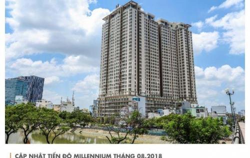 3PN Millennium Masteri 98m2, tầng 8, view sông Bitexco Q1+Hồ bơi, Ck 5% chỉ còn 7.094 tỷ cả vat